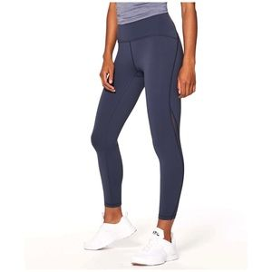 "Lululemon | Train Times 7/8 Pant 25"" Blue Size 4"